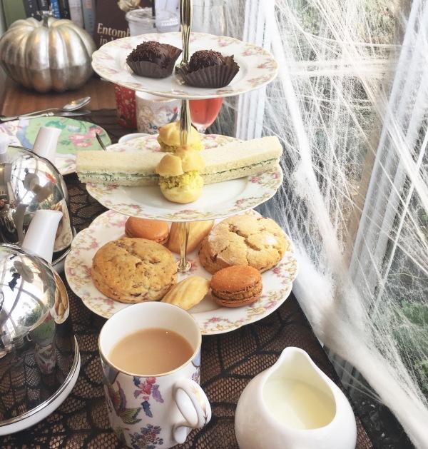 tiered tea tray