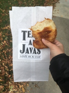 tea and java croissant
