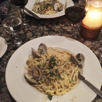 linguine with clam